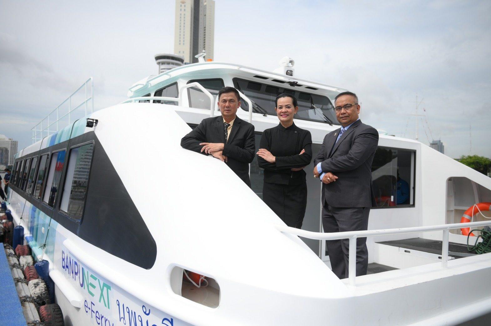 เปิดตัวเรือท่องเที่ยวไฟฟ้าทางทะเลลำแรกของไทย