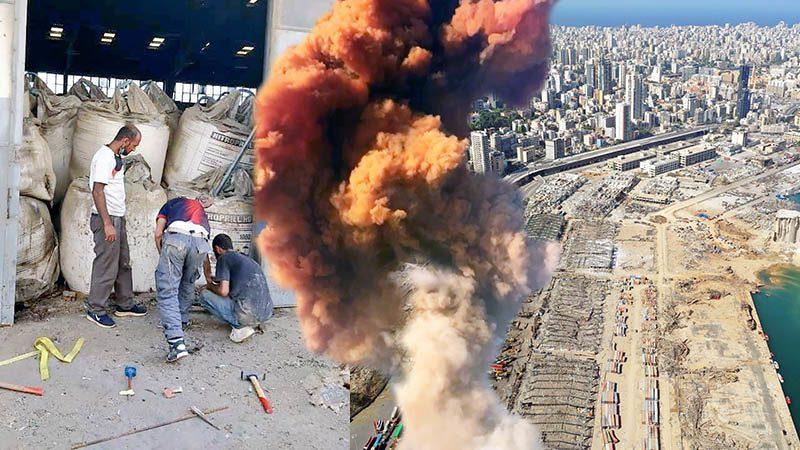 ระเบิดเบรุต: ประชาชนโกรธรัฐบาลเลบานอน เผยโกดังที่เก็บแอมโมเนียมไนเตรท