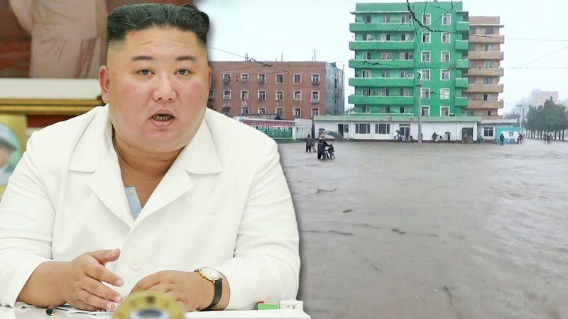 """คิม จองอึน ลงพื้นที่แก้วิกฤต """"น้ำท่วม"""" โสมใต้แฉฝั่งเหนือลอบเปิดเขื่อน-ปมน้ำทะลัก"""