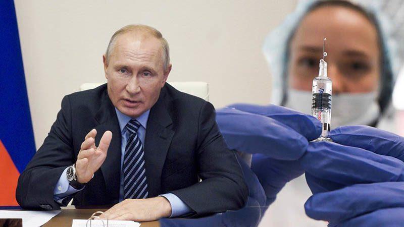 รัสเซียขึ้นทะเบียนแล้ว วัคซีนโควิด-19 ปูตินคุยลูกสาวได้ฉีดสองเข็ม-ผลลัพธ์ดี