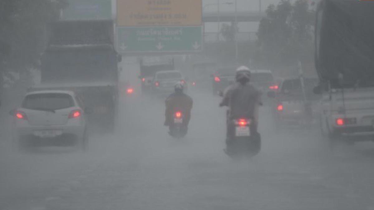 เตือนกทม.ฝนตก 40% อีก 34 จังหวัดเจอหนักเช่นกัน