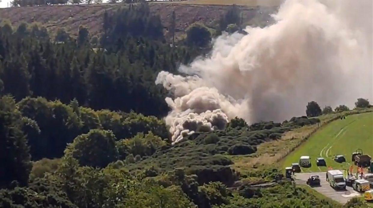 รถไฟตกรางในสกอตแลนด์ ตาย 3 เจ็บ 6
