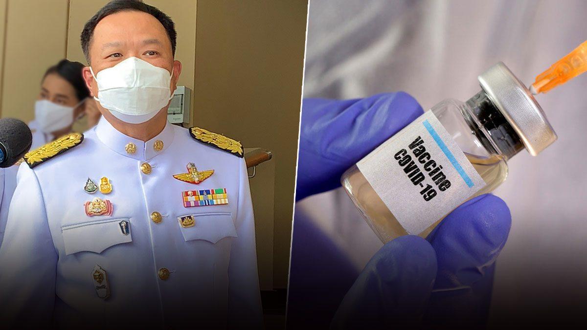 'อนุทิน' รอสธ.แจงพบชายไทยติดโควิดที่ญี่ปุ่น ชงครม.เคาะพัฒนาวัคซีน 600 ล้าน