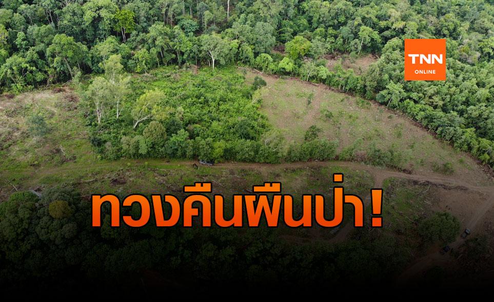 ยึดคืนป่าต้นน้ำ จ.จันทบุรี หลังถูกนายทุนบุกรุกปลูกทุเรียน
