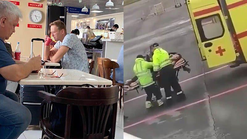 หมดสติบนเครื่องบิน ผู้นำฝ่ายค้านปูตินเข้าไอซียู คาดถูกวางยาพิษ สงสัยน้ำชาที่ดื่ม