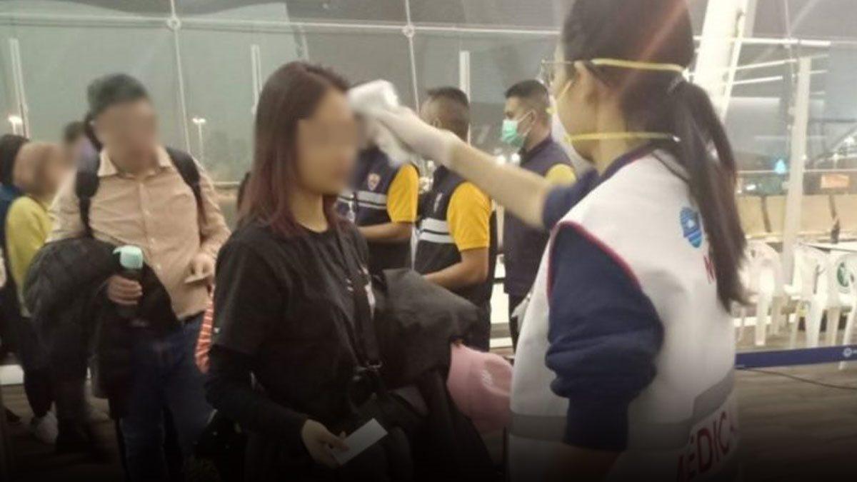 พบคนไทยกลับจาก 6 เที่ยวบินมีไข้สูง 9 ราย ด่านควบคุมโรคนำตัวส่งรพ.ทันที