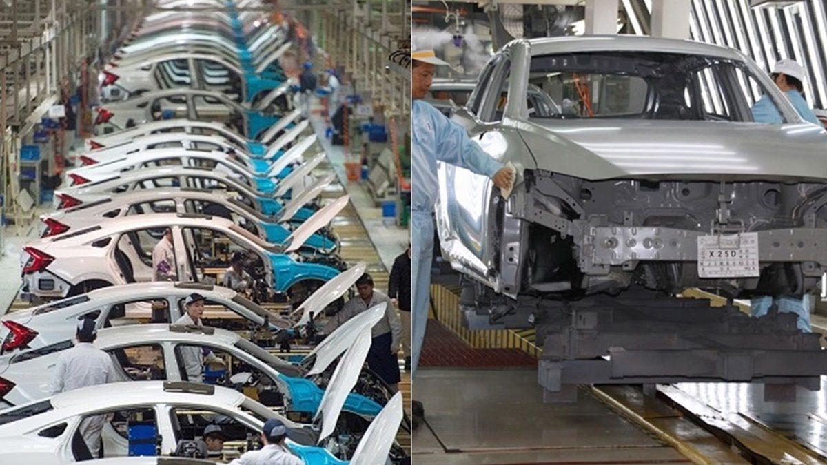 ยอดผลิตรถยนต์ยังดำดิ่ง! ลดลงจากปีก่อน 47.71% ส่งออกลดลงทุกตลาดคู่ค้า