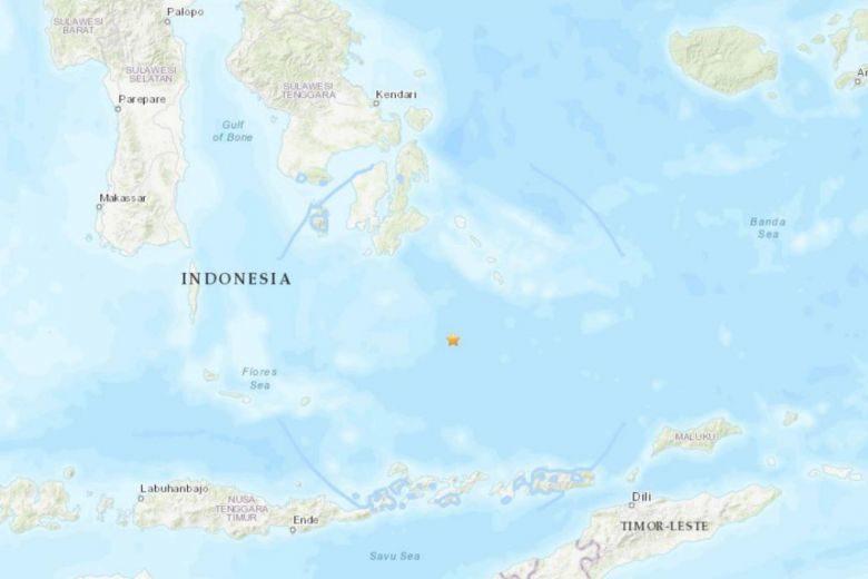อินโดตื่น! หนีแผ่นดินไหวแรง 6.9 เขย่าใต้ทะเลลึก เบื้องต้นไร้ความเสียหายรุนแรง