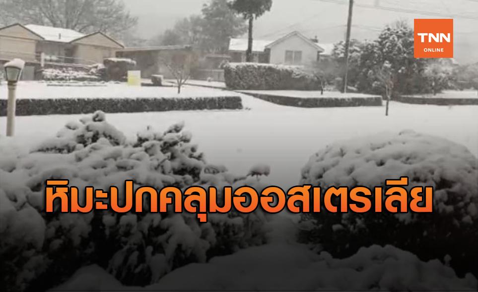 ออสเตรเลียยะเยือก! หิมะปกคลุมสูงกว่า 1 เมตร