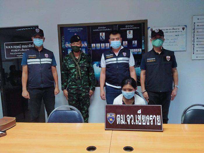 เชียงราย สกัดต่างด้าวลอบเข้าไทยต่อเนื่อง พบผู้ติดเชื้อในเมียนมา 10 คนแล้ว