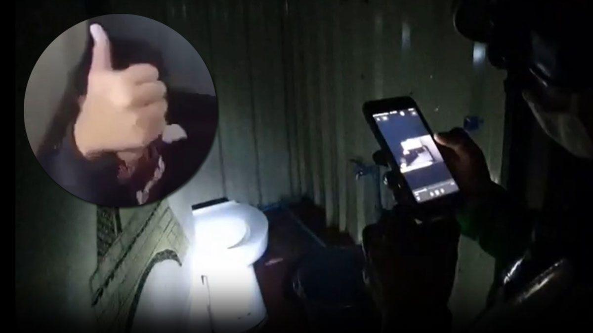 ตำรวจลุยตรวจห้องน้ำแหล่งบันเทิงกลางเมืองอุบลฯ หลังคลิปสวิงกิ้งว่อน