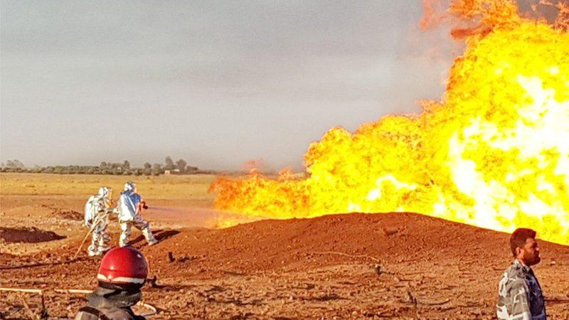 ซีเรียโกลาหล! ท่อแก๊สบึ้ม-ไฟดับทั่วประเทศ รบ.ชี้ก่อการร้าย (คลิป)