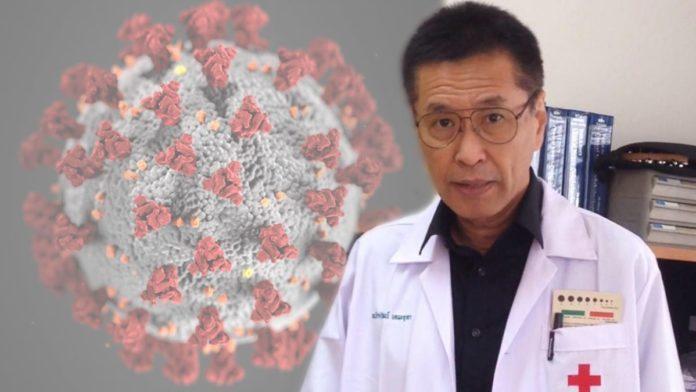 """""""หมอธีระวัฒน์"""" ชี้เป็นไปได้ติดโควิด-19 รอบ2 เชื้อหลบใน ไวรัสเปลี่ยนรูป ตรวจไม่พบ"""