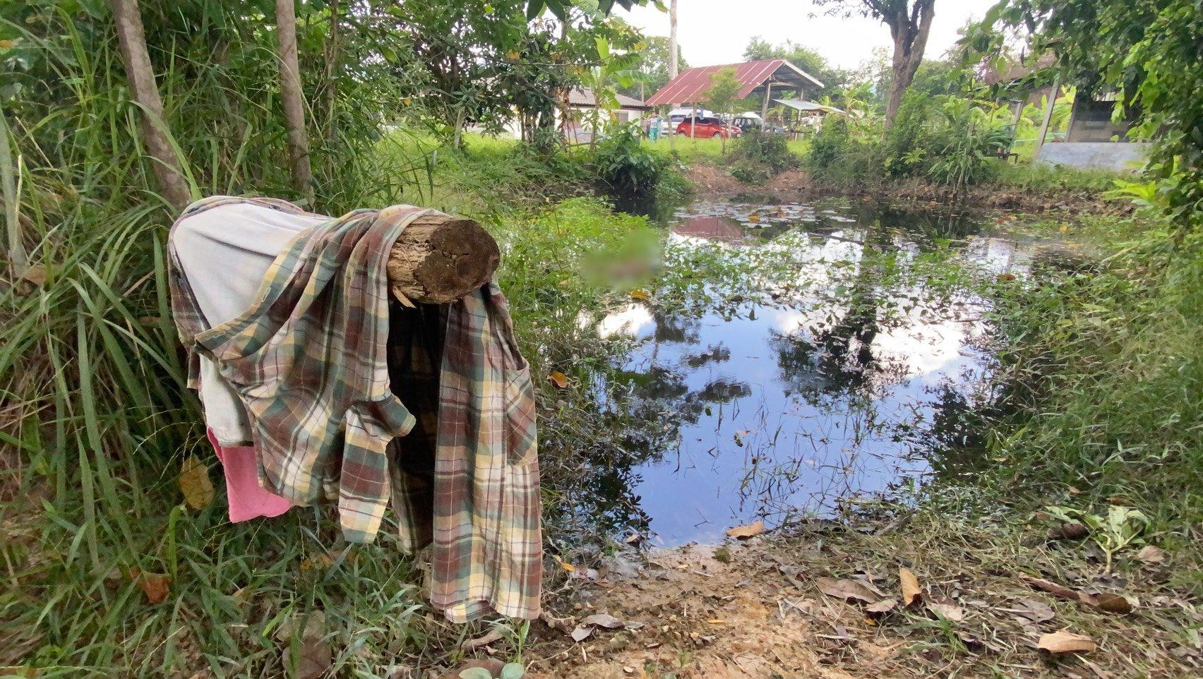 สลด ยายวัย 85 จมน้ำดับ หลานผงะเอาไม้เขี่ยในบ่อคิดว่าเป็นหมอน คาดเป็นลมแล้วพลัดตก
