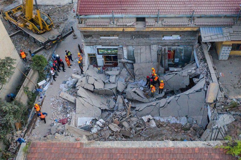 ร้านอาหารในมณฑลซานซีถล่ม มีผู้เสียชีวิตแล้ว 29 ราย