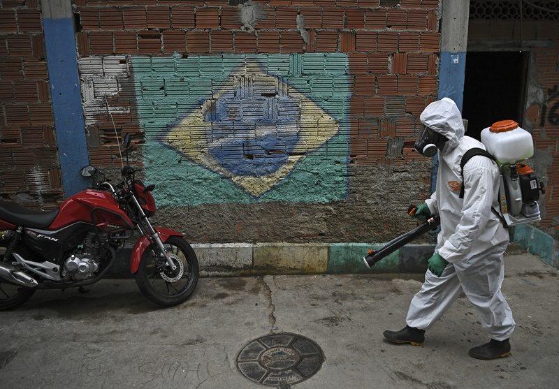 ยอดตายจากโควิด-19 ในบราซิล ทะลุ 1.2 แสนรายแล้ว