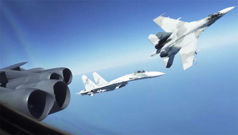 หวาดเสียวกลางเวหา! สหรัฐโวยรัสเซีย เครื่องบิน2ลำโฉบสกัดบี-52