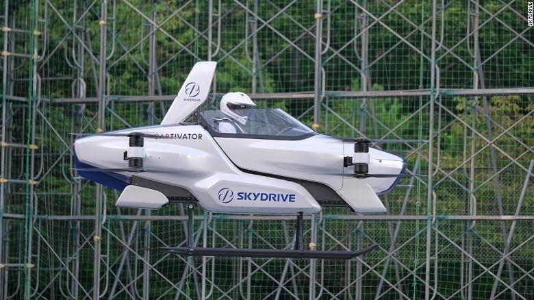 ญี่ปุ่นผงาดฟ้า รถบินได้มีคนขับ ทดสอบโชว์ครั้งแรก อีก3ปีมีขาย