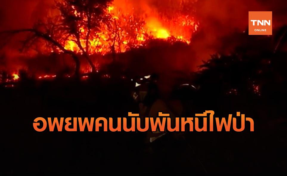 ยังคุมไม่ได้! สเปนอพยพประชาชนนับพันหนีไฟป่า