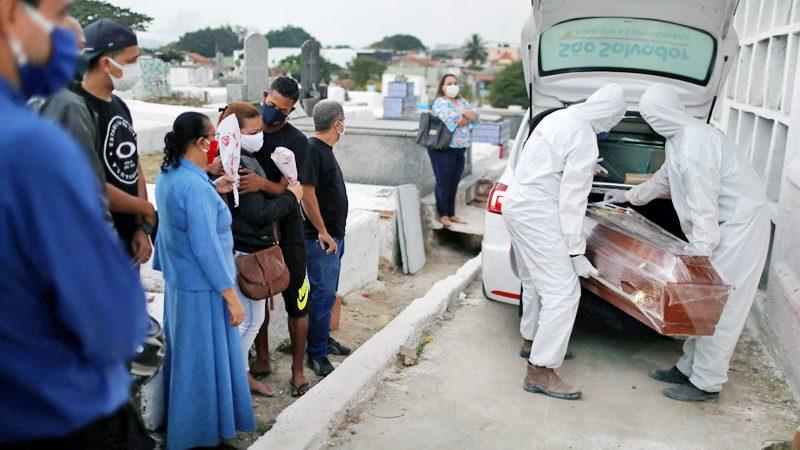 โควิด : บราซิลติดเชื้อพุ่ง 4 ล้านคน เมียนมาป่วยสะสมเฉียด 900 คน!
