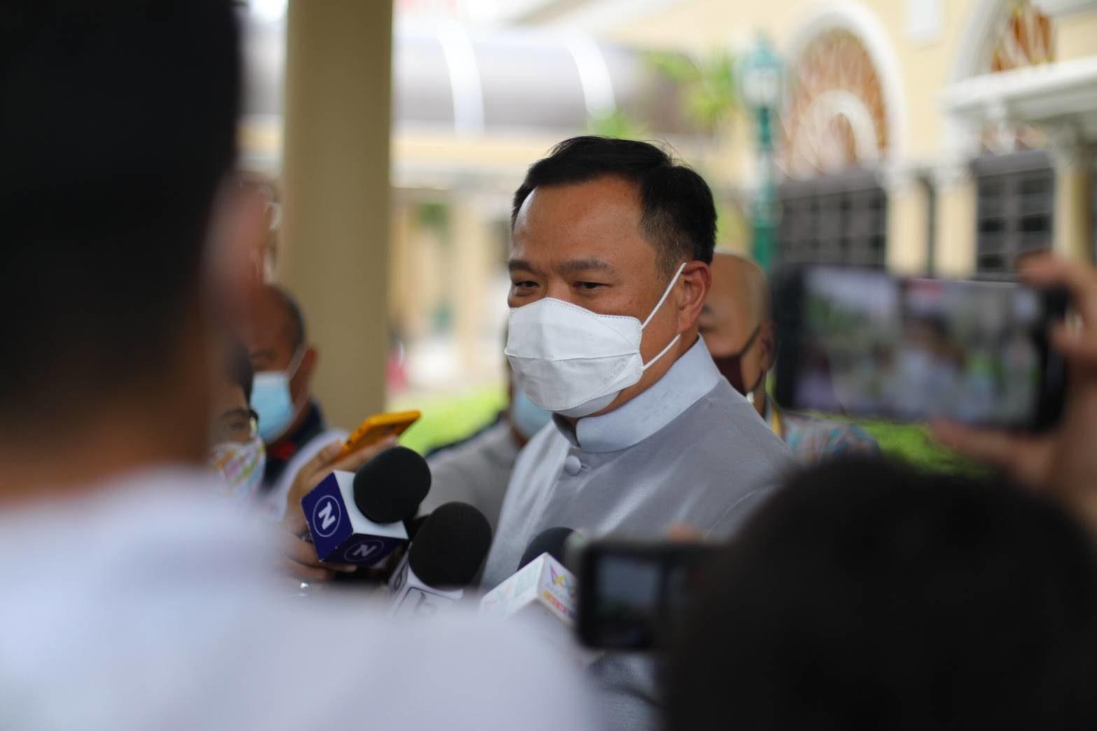 อนุทิน ลั่นไม่ทิ้งสตาร์ทอัพไทยพัฒนาวัคซีนโควิด-19