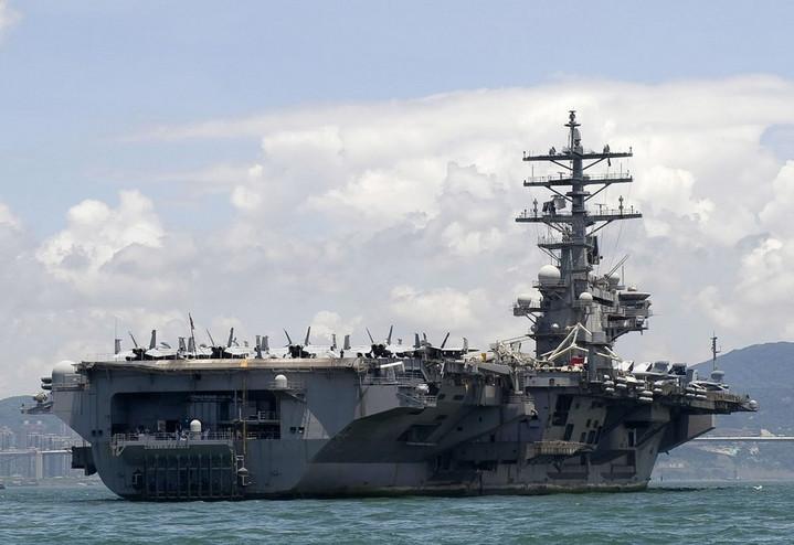 สหรัฐฯ พบลูกเรือติดเชื้อโควิด-19 บนเรือบรรทุกเครื่องบิน 'โรนัลด์ เรแกน'