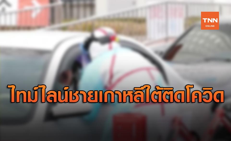 เปิดไทม์ไลน์ชายเกาหลีใต้ติดโควิด-19 หลังเดินทางกลับจากไทย