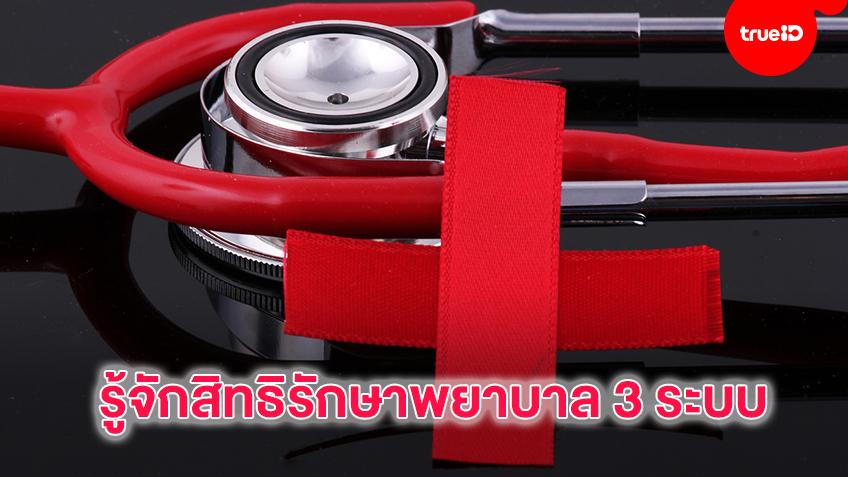 รู้จักสิทธิรักษาพยาบาล 3 ระบบของคนไทย