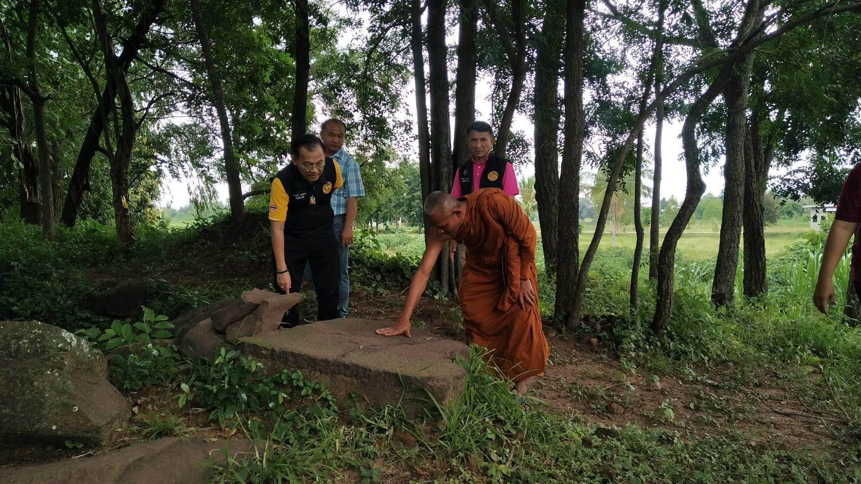 โคราชตรวจสอบหินทรายโบราณ ชนิดเดียวกับพระพุทธรูปโบราณสมัยทวาราวดี