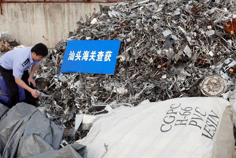 ศุลกากรจีนสั่งตีกลับ 'ขยะมูลฝอย' กว่า 21 ตัน
