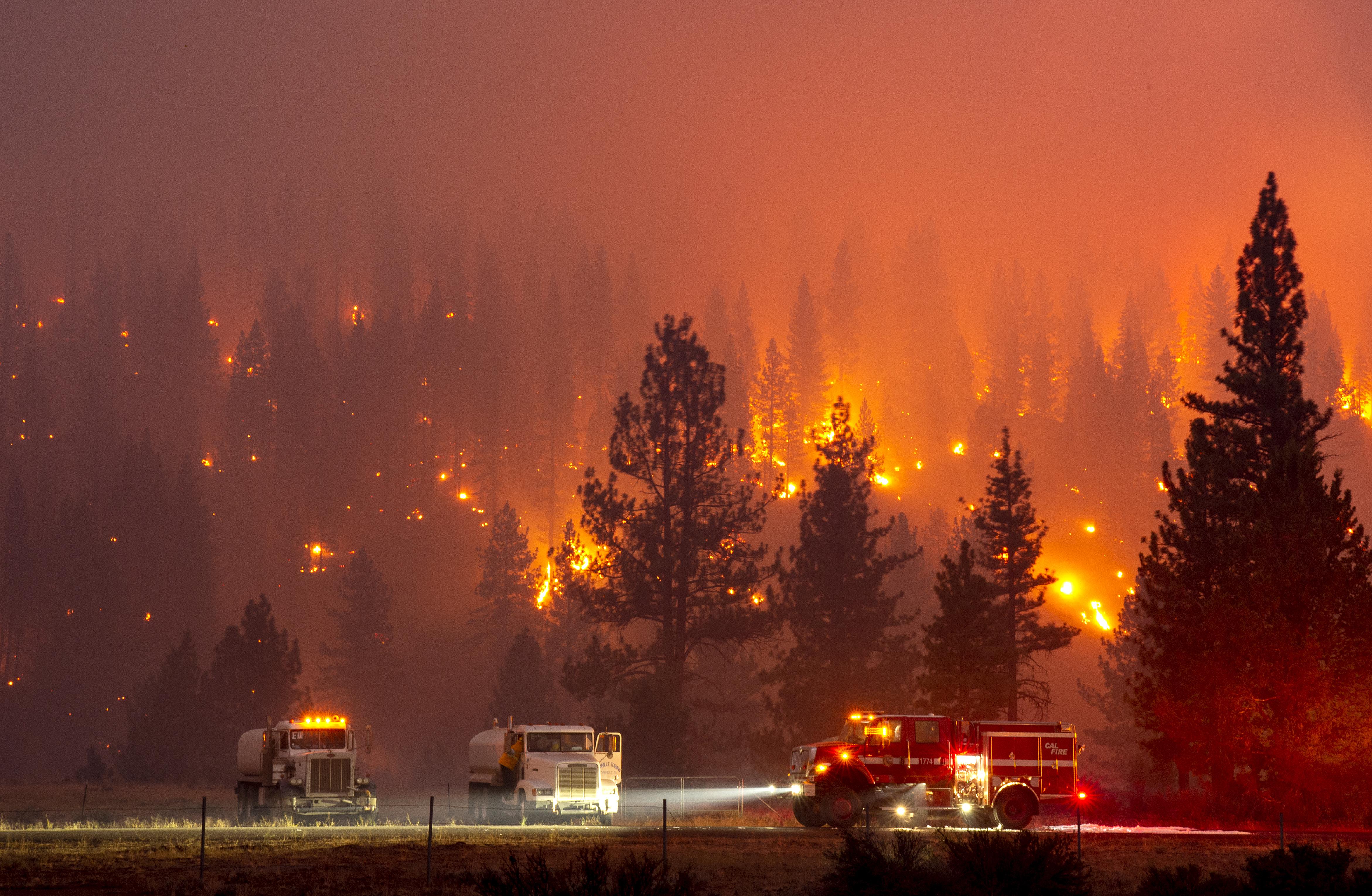 ไล่เรียงสถานการณ์ไฟป่าครั้งประวัติศาสตร์แคลิฟอร์เนีย