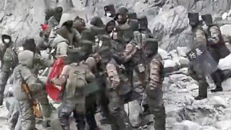 คลิปทหารจีนปะทะอินเดียหลุดว่อนแล้ว กูรูคาดเป็นเหตุปะทะเก่า