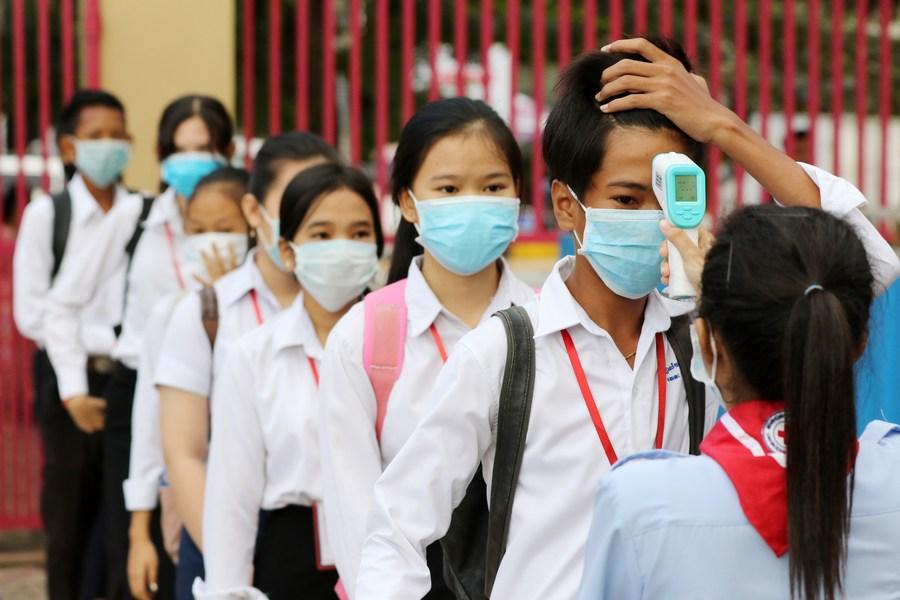กัมพูชาพบป่วยโควิด-19 ติดเชื้อในชุมชนครั้งแรก 6 ราย