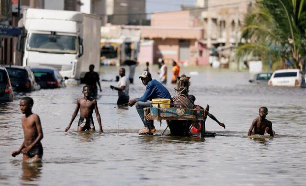 น้ำท่วมหนักบางพื้นที่ในแอฟริกา กระทบ 7.6 แสนคน