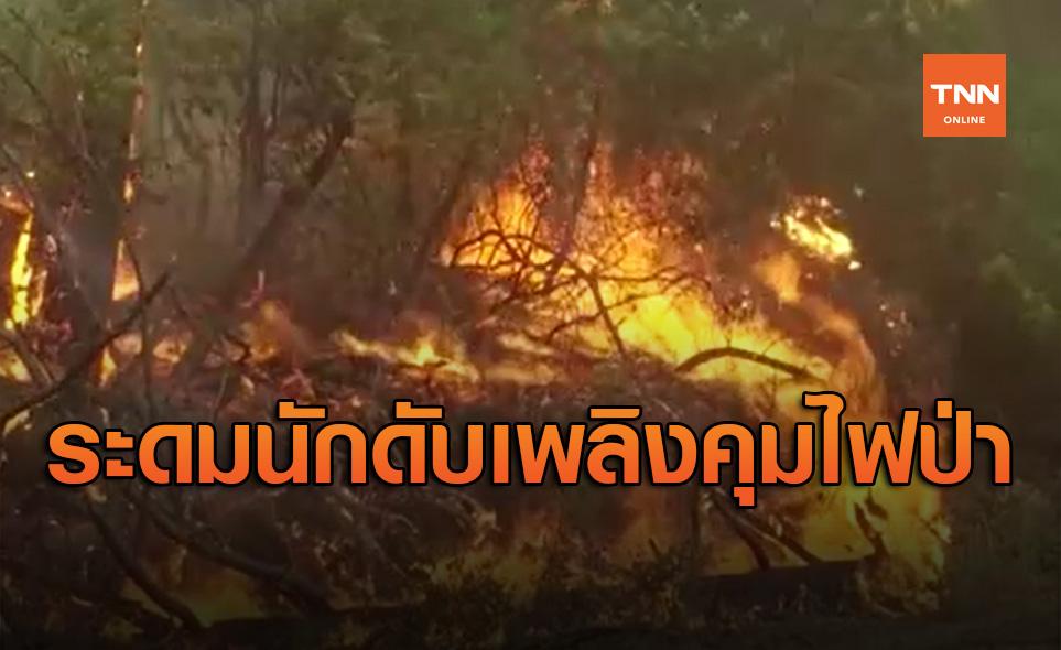 ระดมนักดับเพลิงทั่วประเทศกว่า2หมื่นคนดับไฟป่าโหมไหม้สหรัฐ