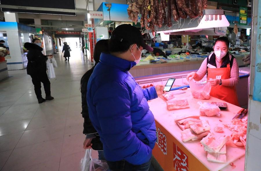 จีนเผยราคา 'เนื้อหมู' ในประเทศปรับตัวลดลง
