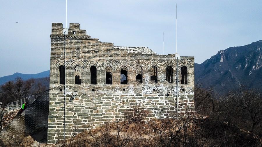 จีนเปิด 'หอเฝ้าข้าศึก ตา 9 ดวง' แห่งกำแพงเมืองจีนโบราณ