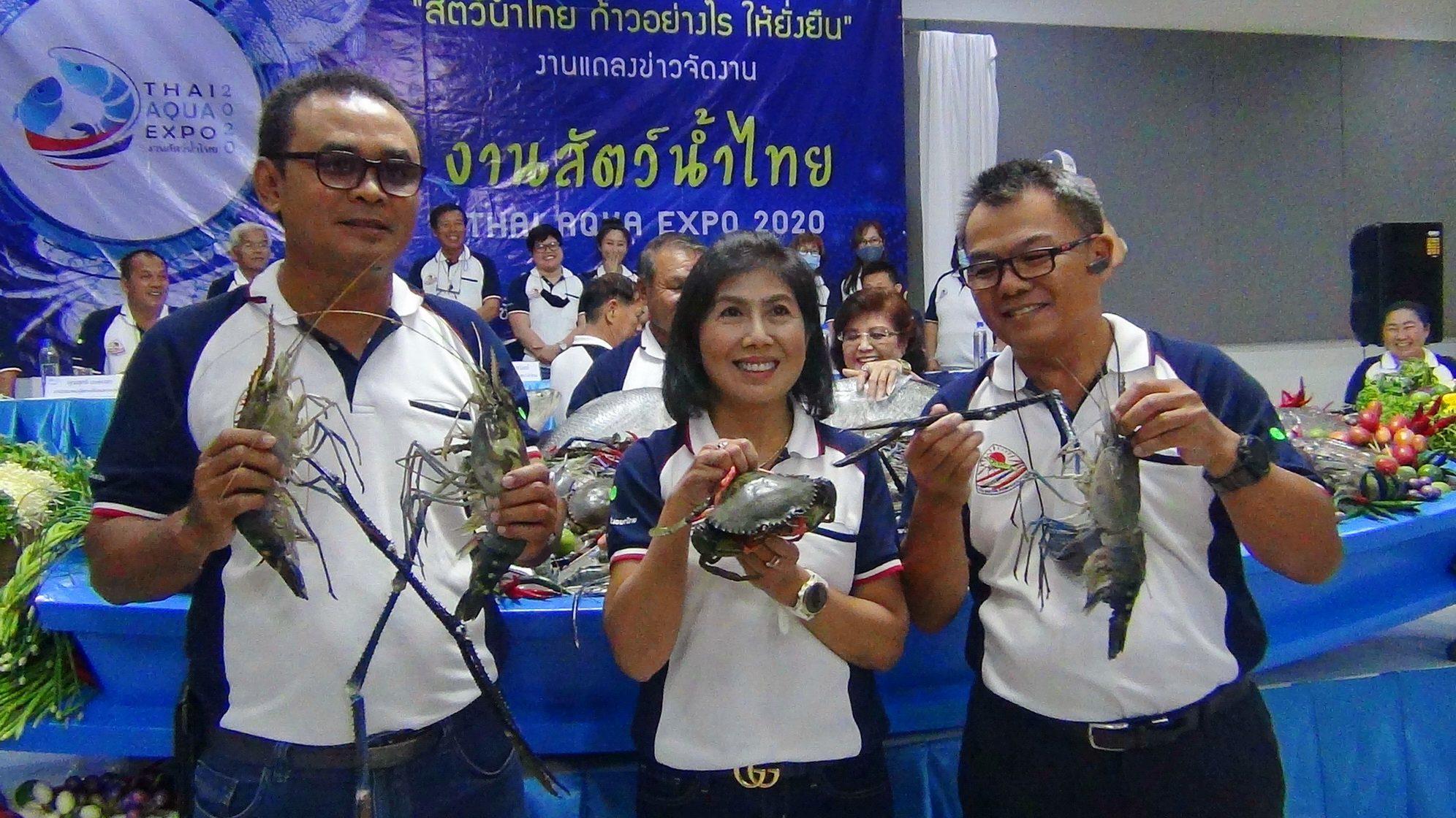 'แปดริ้ว'ฟื้นตลาดกุ้ง-ปลา จัดงานรวม 'สัตว์น้ำไทย2020' หนุนเกษตรกรก้าวทันยุคแบบยั่งยืน