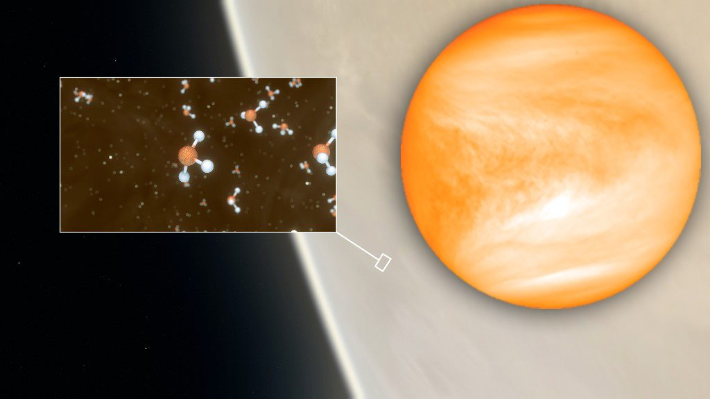 พบสัญญาณสิ่งมีชีวิตบนดาวศุกร์ ลุ้นกลางเมฆหมอกร้อนระอุ