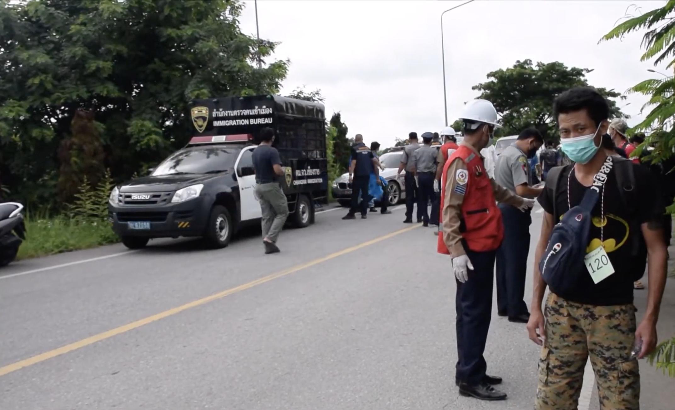 ตม.เชียงราย ผลักดันชาวเมียนม่า 121 คน คดียา-ลอบเข้าเมือง กลับประเทศ