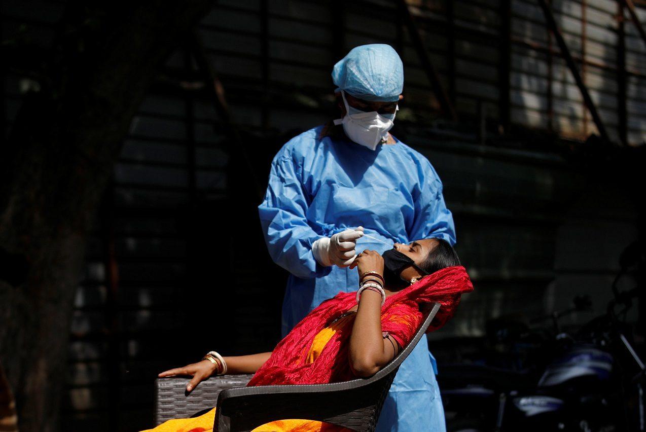 ยอดติดเชื้อโควิดที่อินเดียทะยานทะลุ 5.4 ล้านคน ขยับใกล้สหรัฐอเมริกา