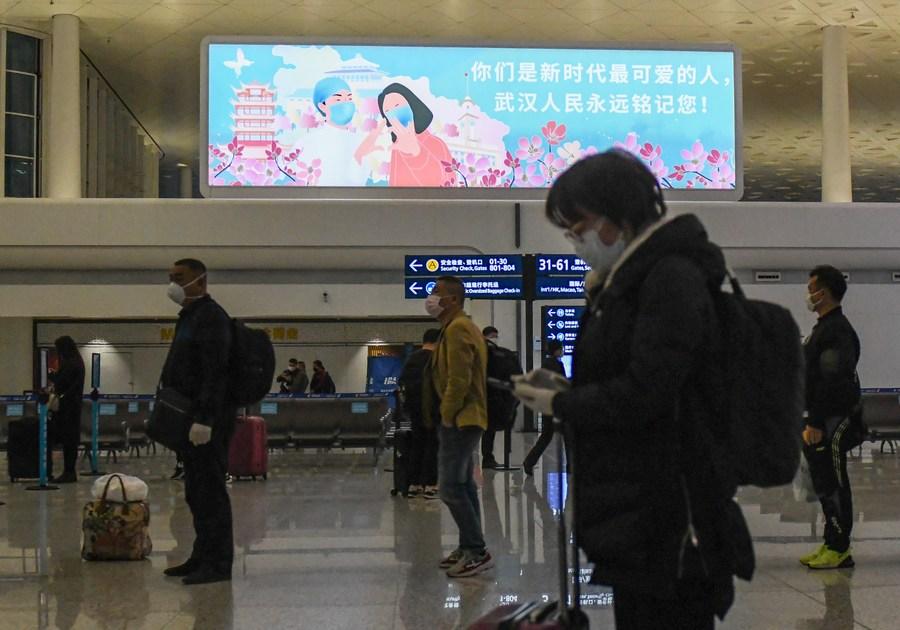 'สนามบินอู่ฮั่น' รองรับผู้โดยสารรายวันสูงทุบสถิติตั้งแต่ปี 1995