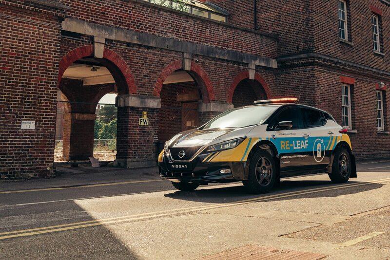 รถต้นแบบ'นิสสัน รี-ลีฟ' แหล่งพลังงานเคลื่อนที่