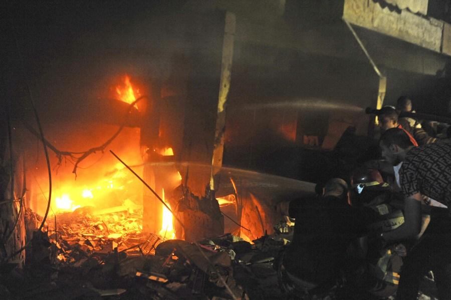 เกิดเหตุระเบิดโกดังในเบรุต ดับ 2 เจ็บอีกกว่า 20
