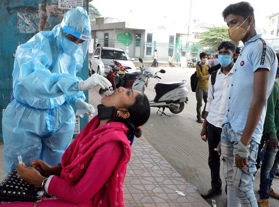 อินเดียป่วยโควิด-19 ทะลุ 7 ล้าน พบติดเชื้อหลักล้านใน 13 วัน