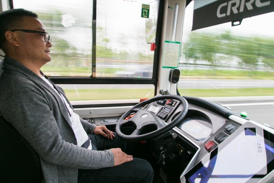 ฉางซาส่ง 'รถเมล์ขับเคลื่อนอัตโนมัติ' ทดลองวิ่งจริง