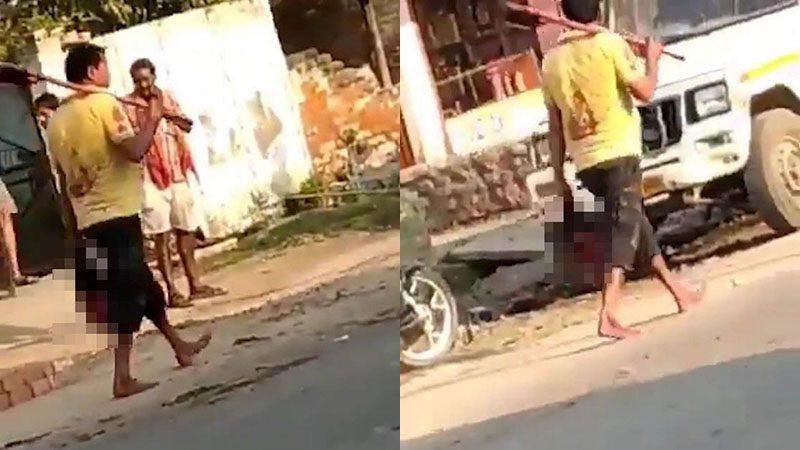 คดีสยองอินเดีย ชายทะเลาะเดือด ฆ่าตัดศีรษะเมีย เดินหิ้วไปสถานีตำรวจ