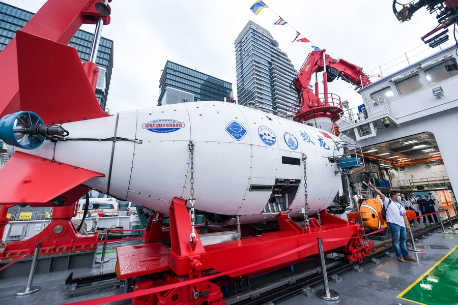 มหกรรมเศรษฐกิจทางทะเลเซินเจิ้น จัดแสดงเรือยักษ์สัญชาติจีน