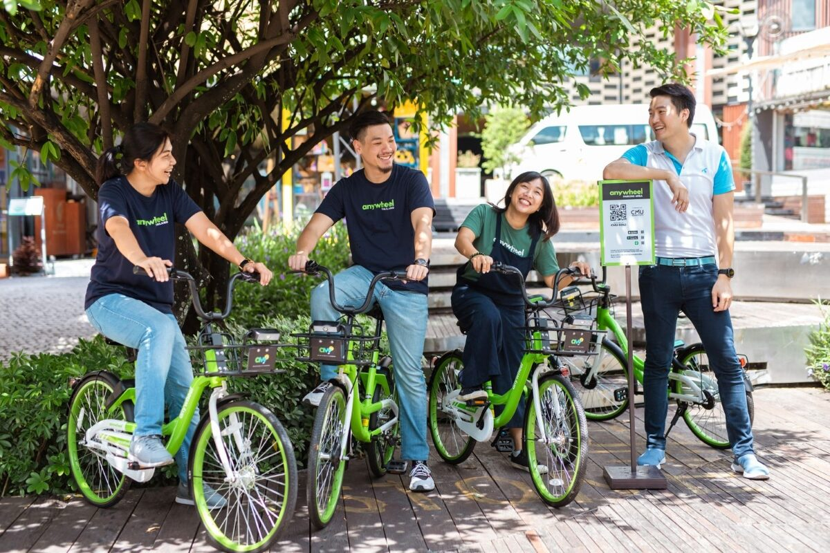 'เอนี่วิล' จักรยานสาธารณะ ทางเลือกการสัญจรที่เชียงใหม่