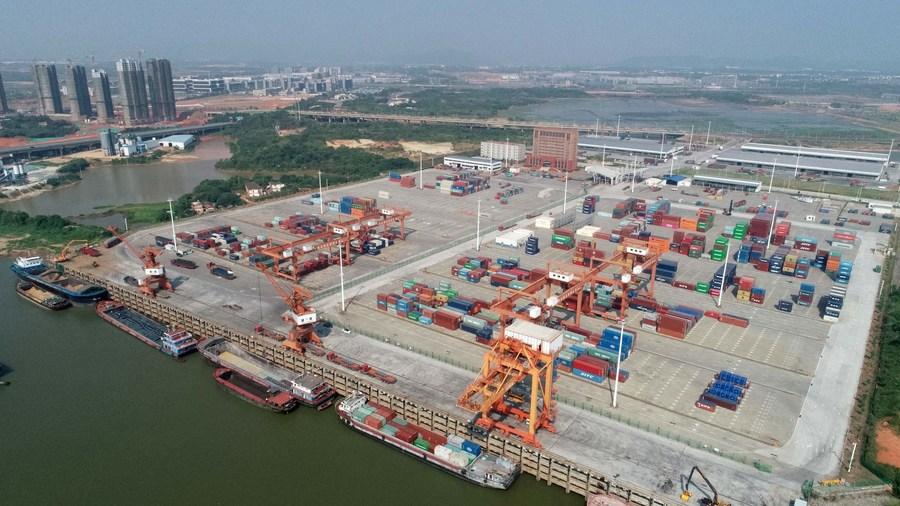 'เจียงซี' เผยการค้าระหว่างประเทศ 11 เดือนแรก โต 14.9%